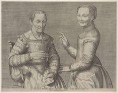 La vecchia rimbambita muove riso alla fanciuletta (Old Woman and Laughing Girl), c. 1547 – 1567 by Sofonisba Anguissola
