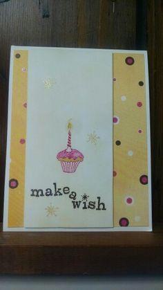 Make a wish little cupcake