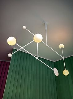 NAME: Statica TYPOLOGY: Ceiling lamp made of metal and glass CLIENT: Spotti Edizioni YEAR: 2013