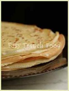 How to make crepes and a quick recipe :) Breakfast tomorrow? I think so!!