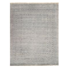 Shop for EORC Handmade Wool Grey Lori Baft Rug (8' x 10'). Get free shipping at Overstock.com - Your Online Home Decor Outlet Store! Get 5% in rewards with Club O!