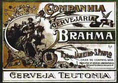1419 - CERVEJA - Brahma - Teutonia - Rio de Janeiro-S.Paulo -   - 41x29-.