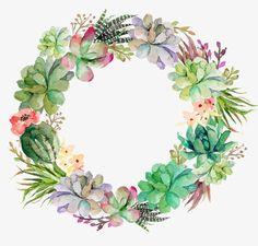 изысканный венок, цветочный венок, венок украшения PNG Image and Clipart