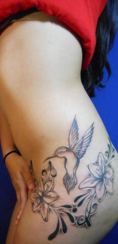 ALEXIS' HUMMINGBIRD TATT — at Eternal Ink