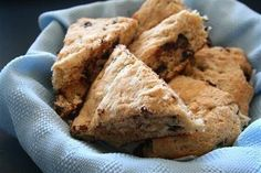 Whole wheat chocolate chip scones Might try with white whole wheat flour