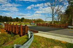 Timber Vehicular Bridge:  Briar Chapel Community - Pittsboro, NC