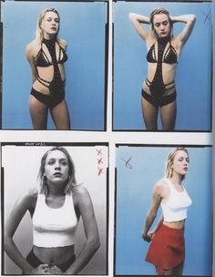Chloë Sevigny, Esquire contact sheets, shot by Christian Witkin, 1997