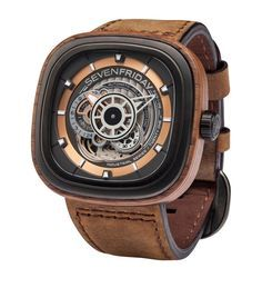 Seven Friday P2B/03 Woody Automatic Watch available to buy at Harrods. Shop men's watches and earn Rewards points.