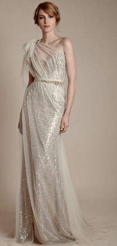 So elegant dress.
