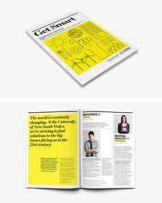Yellow #Layout #Design #Magazine #Editorial