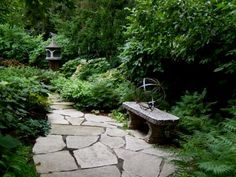 Turn a shady spot into a lush, thriving garden with plant picks and design ideas for a shade garden from the experts at HGTV Gardens. Backyard Garden Landscape, Garden Pool, Garden Paths, Lawn And Garden, Garden Landscaping, Gravel Garden, Pea Gravel, Landscaping Tips, Shade Shrubs