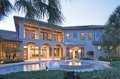 Exterior of luxury home in Orlando, Florida