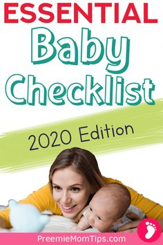 Don't miss out on the best and essential baby products for your new baby! Start your baby registry the right way with this checklist of the absolute essentials. #pregnancy #baby #newmom
