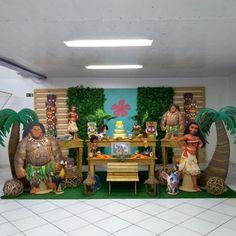 Moana Birthday Party Theme, Moana Themed Party, Moana Party, Mermaid Birthday, 3rd Birthday Parties, Happy 2nd Birthday, Baby Birthday, Moana Hawaiian, Festa Moana Baby
