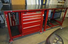 Another Welding Table / Workbench Thread - The Garage Journal Board
