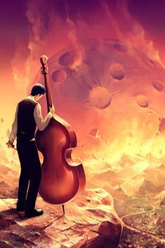 SMORZANDO [SMORZ.]  [adjective]  Music: growing gradually fainter and softer; dying away; morendo.  [Cyril Rolando]