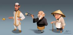 World Chef Characters by javieralcalde