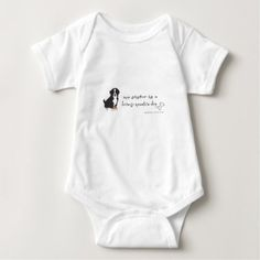 bernese mountain dog baby bodysuit - baby gifts child new born gift idea diy cyo special unique design