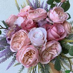 Happy Mother's Day floral bouquet. Beautiful Bouquet Of Flowers, Flower Bouquet Wedding, Love Flowers, Beautiful Roses, Faux Flowers, Silk Flowers, Paper Flowers, Silk Flower Arrangements, Flower Aesthetic