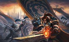 Poster King Varian Wrynn con unas medidas de 23x14 y representando al Rey Varian del aclamado World of Warcraft,no puede faltar en tu cuarto de juegos.