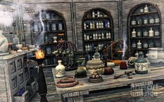 The Apothecary by Jutta Maria Pusl