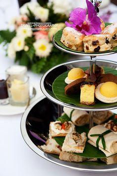 Thai Desserts in High Tea /137 Pillars House, Chaing Mai