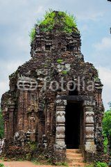 Ruined temple of the ancient Champa in My Son