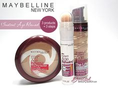 Maybelline Instant Age Rewind Collection- vitamin C Makeup Stuff, Makeup Items, Makeup Products, Beauty Products, Beauty Secrets, Beauty Tips, Beauty Hacks, Clinique Makeup, Makeup Cosmetics