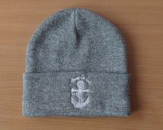 100% Acrylic grey beanie hat Grey Beanie, Beanie Hats, Things To Buy, Stuff To Buy, How To Wear, Fashion, Moda, Fasion, Fashion Illustrations
