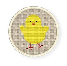 chick cross stitch