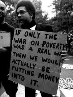 War on poverty.