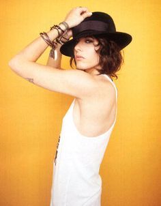 Kate Moennig (Shane on the L Word). Both her style and her character are sexy.