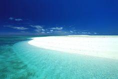 沖縄:久米島はての浜