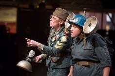 MUCH ADO ABOUT NOTHING by William Shakespeare by Royal Exchange Theatre, via Flickr Costume Design, Riding Helmets, Theatre, Costumes, William Shakespeare, Bobs, Fashion, Moda, Apparel Design