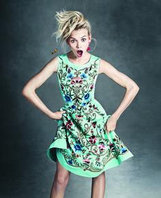 vestido de fiesta bordado http://www.miboda.tips/