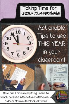 Are you interested in Interactive Notebooks but struggle with how you can do them in a time constraint? Check out these actionable tips to implement today.