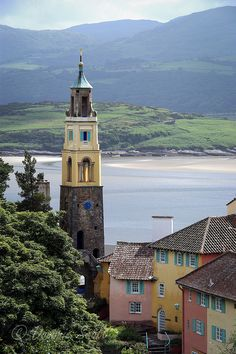 Portmeirion Wales   Flickr - Photo Sharing! Dominic Scott Photography