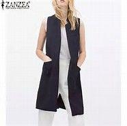 Image result for long vests for women fashion 2016