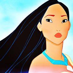 Walt disney images - pocahontas with short hair - disney princess Disney Pocahontas, Aurora Disney, Rapunzel Disney, Princess Pocahontas, Disney Princesses, Pocahontas Pictures, Disney Hair, Disney Pictures, Disney Films
