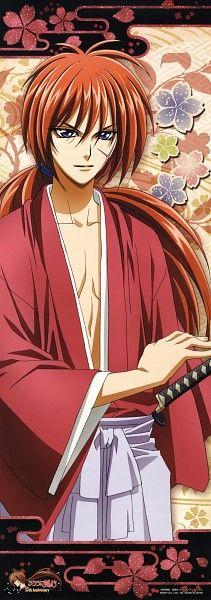 Tags: Anime, Stick Poster, Rurouni Kenshin, Himura Kenshin, Nakajima Atsuko