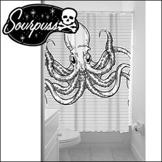 SOURPUSSCLOTHING(サーパスクロージング)/OCTOPUSSHOWERCURTAIN