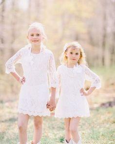 sale-white-dress-Flower-Girl-Lace-Dress-Birthday-Dress-girls-ivory-dress-wedding