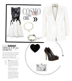 """""""Senza titolo #297"""" by steffyyeah on Polyvore featuring moda, Coast, Chanel, Balenciaga, Alexander McQueen e Dolce&Gabbana"""