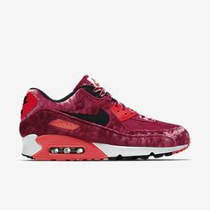 Nike Air Max 90 Anniversary Mens Shoe Gym Red Infrared Metallic Gold Black