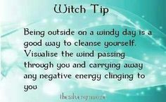 Rid yourself of the negative......