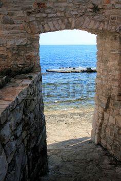 nice view at the Adriatic Sea, Croatia