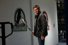 Dean with katana in Supernatural