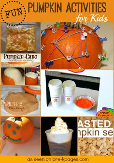 Pumpkin Activities for Kids + Free Printable for Pumpkin Spice Pretend Play!