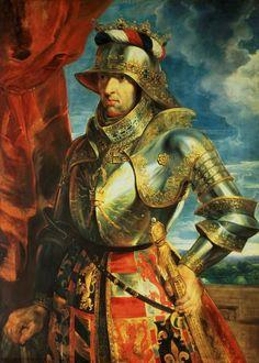 Maximilian I (1518), Peter Paul Rubens この方どなたかとgoogleで調べてみました。マキシミリアン一世中世最後の騎士♡ とても私のタイプの方です。素敵♡  私が、どこかのお姫様だったら、 絵を見てお会いしてみたいと  伝えると思いました。 生涯の悲恋と妻の死 儚いですね。