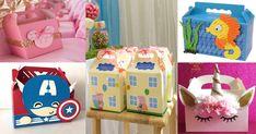 30+Adorables+cajitas+tipo+lonchera+para+dulces